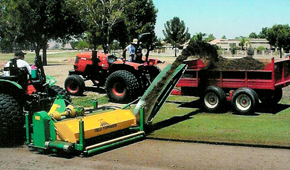 Bring turf surfaces into perfect condition